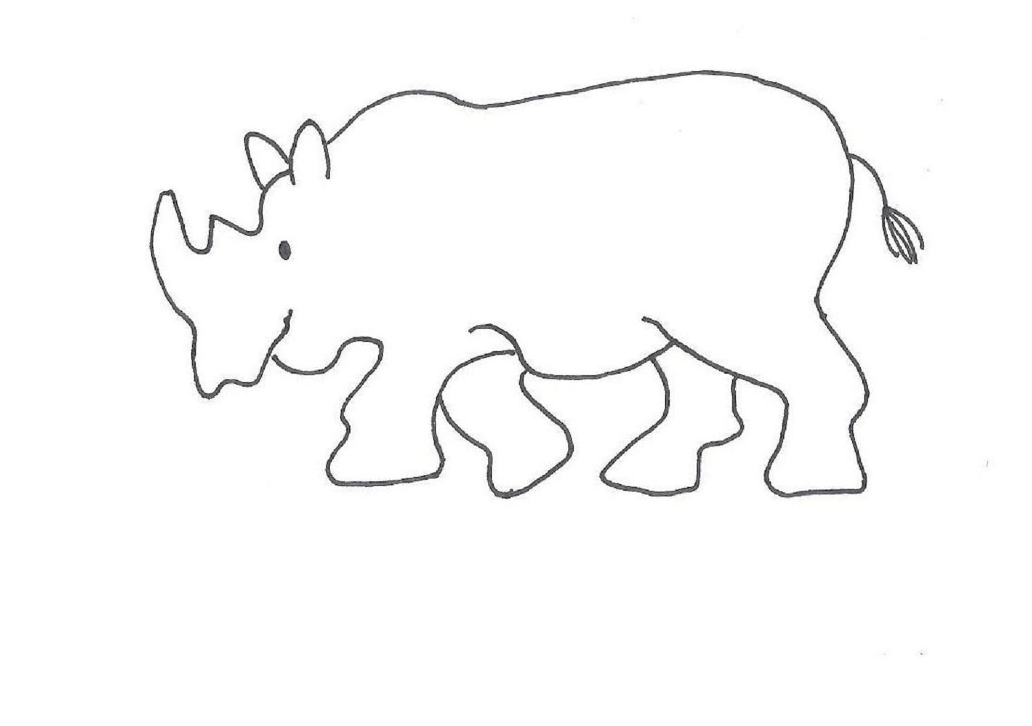 Tapir Topi Tahr Free Coloring