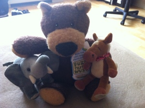 Our pal Bertie Bear!