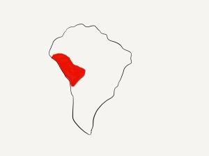 bolivian map