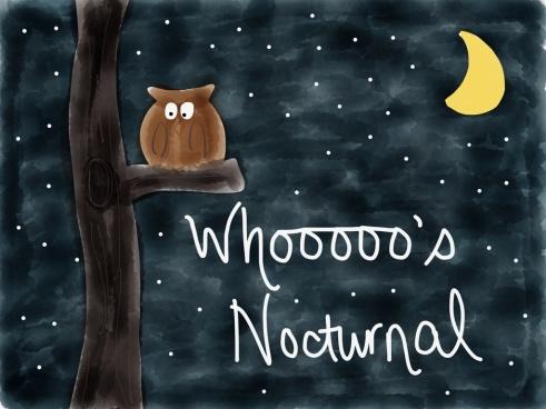 nocturnal cartoon