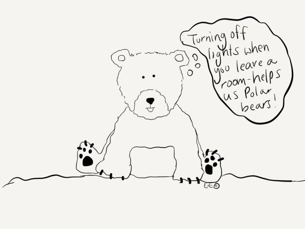 polar bear lights