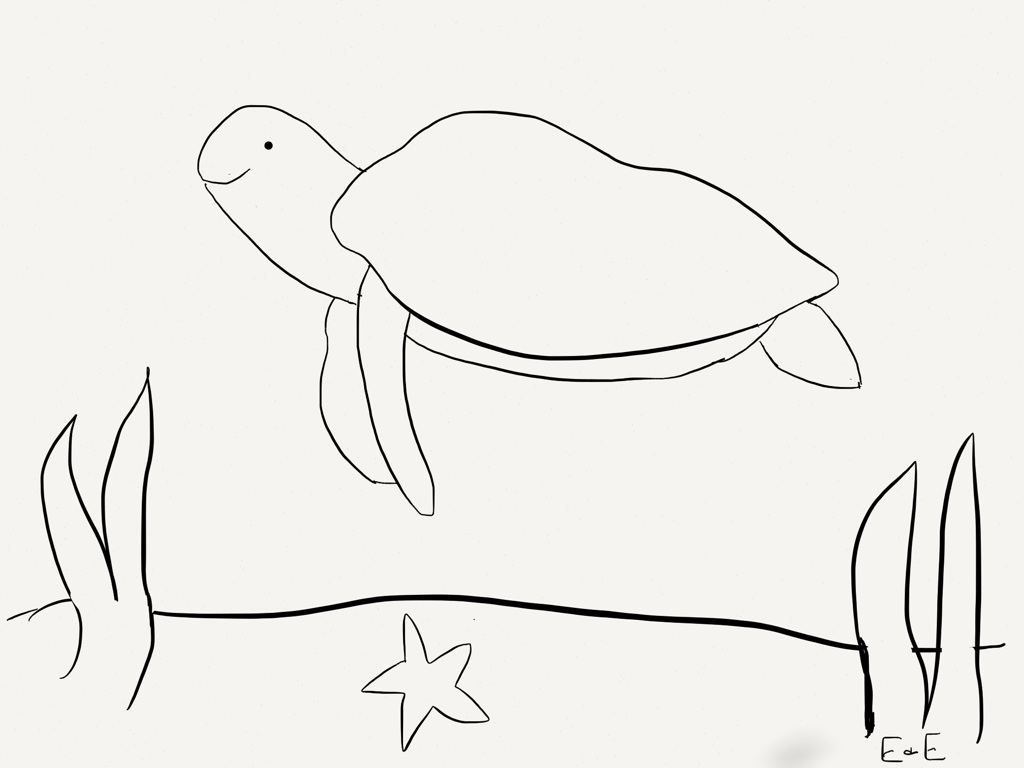 Sea turtle eggs coloring pages kidsuki for Sea turtle coloring page
