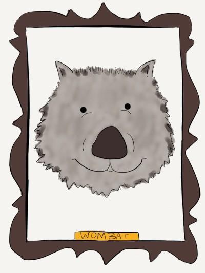 wombat wearefanimaly