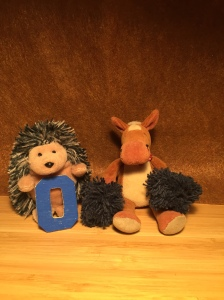 GIVE US AN O! O is for One! Hedgehogs are one of the three animals that hibernate in the UK!