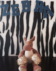 Zebras are attracted stripes! We love their awesome stripes!