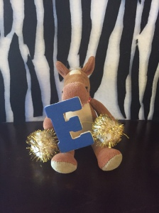 E is for excellent runner! They can reach speeds up to 35 mph!