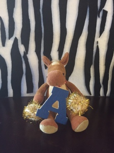 A is for Amazing eyesight! Zebras have excellent sight day and night!